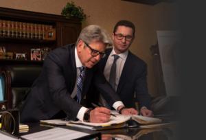 Finz & Finz, P.C. Long Island personal injury attorneys in office