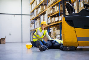 injured at work in a New York warehouse