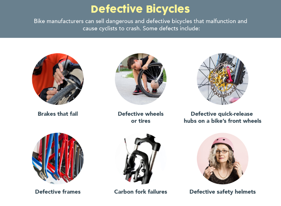 defective bicycles that cause accidents