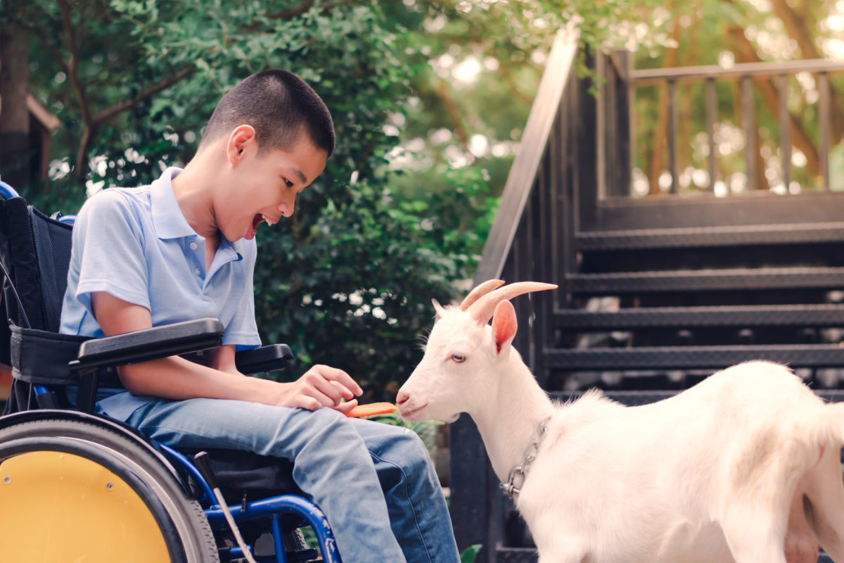 child with cerebral palsy