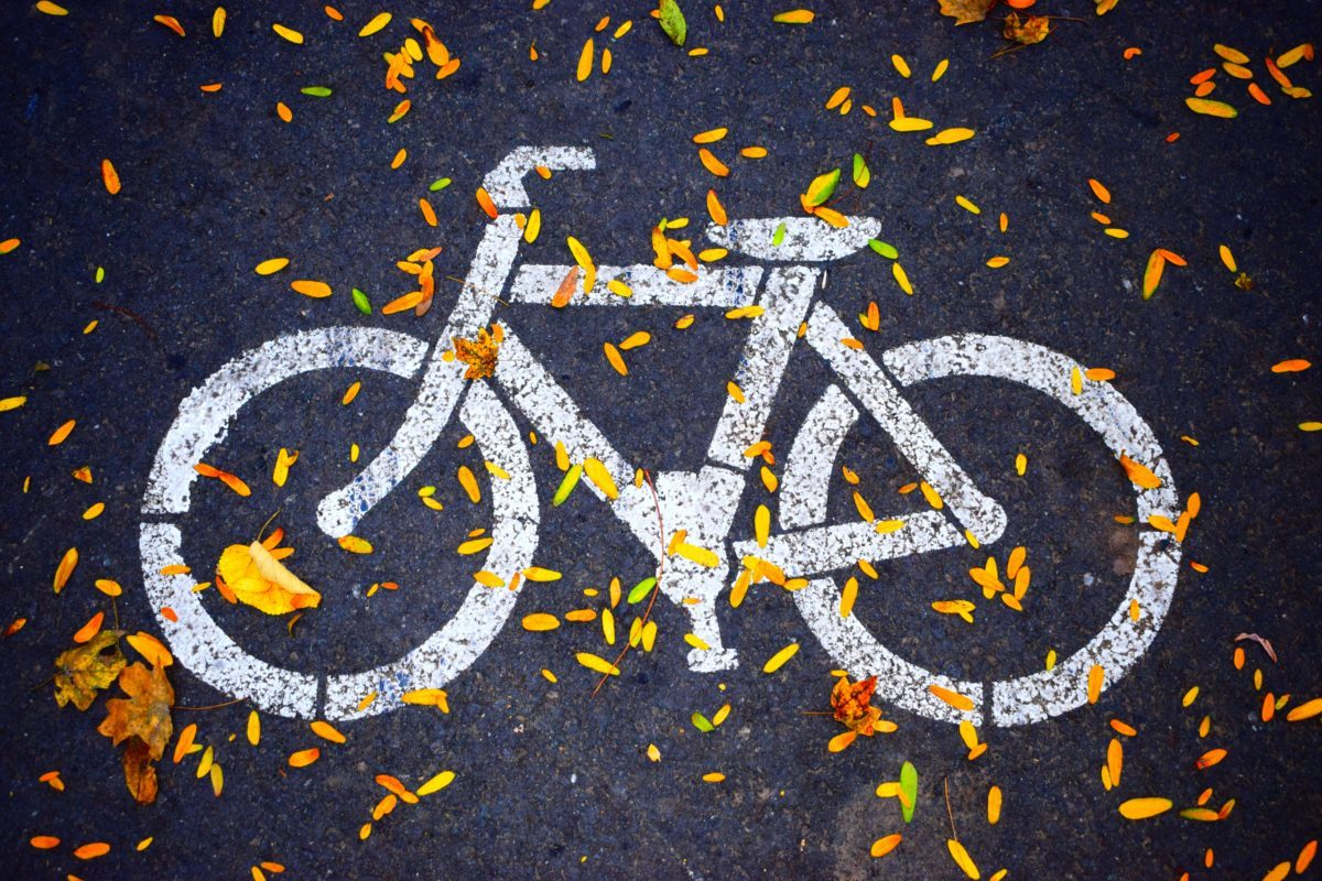 bicycle path in new york