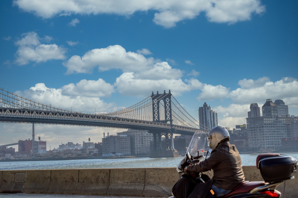New York motorcycle rider