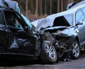 car accident head on